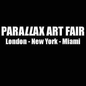 Parallax art fair - logo