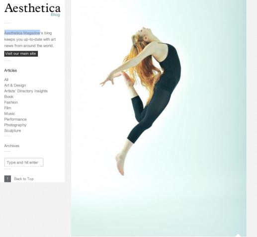 Dancer: Karolina