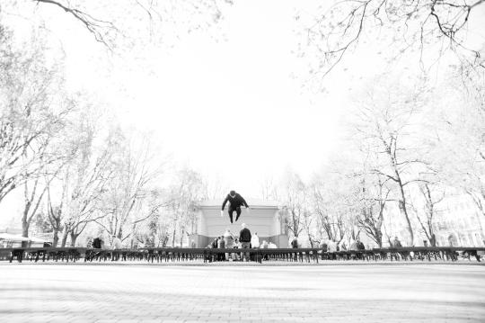 Cody in Vermanes Park - Riga, Latvia #1